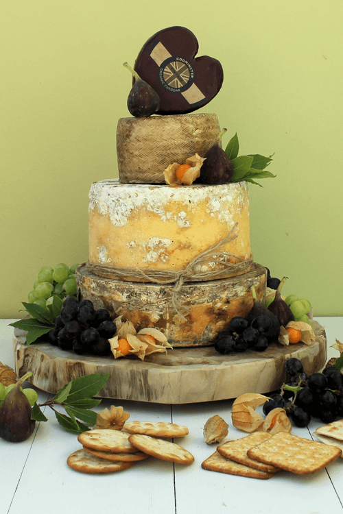 Cheeses Wedding Cakes