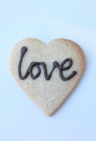 Loveheart Cookies, wedding favours
