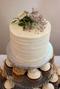 Rustic wedding cake, Rustic Topcake, Buttercream