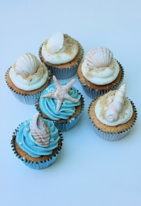 Shell Cupcakes