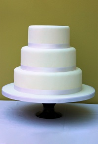 Simple Three Tier Wedding Cake, Perfectly Simple