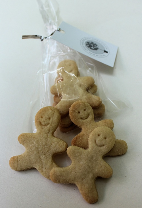 Gingerbread Men Bagged, wedding favour