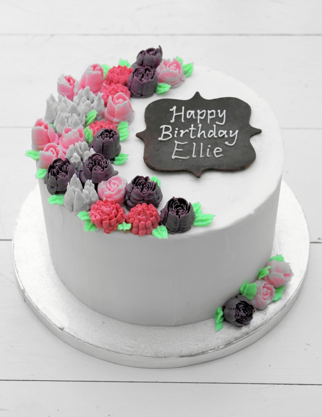 8__buttercream_flowers_birthday_cake