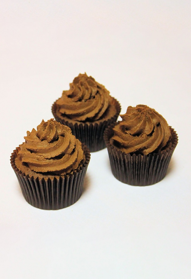 Chocolate Swirl Cupcakes