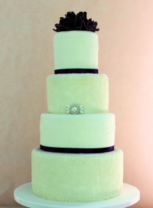 Glimmer Sugar Wedding Cake
