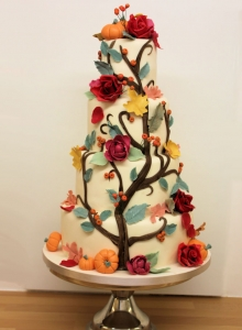 Autumn Tree Wedding Cake