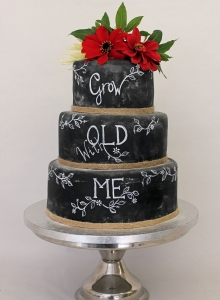 Blackboard Wedding Cake