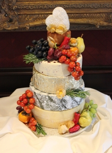 Cheeses Wedding Cake