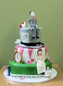 Mad Hatter Wedding Cake