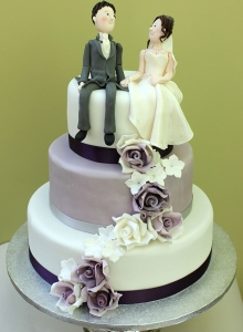 character wedding cake