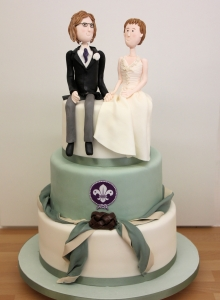 Scouts Wedding Cake