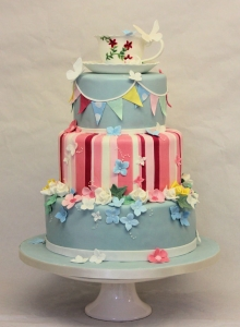 Tea Cup Wedding Cake