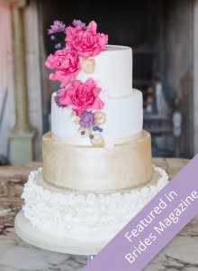 Vibrant Colours Wedding Cake