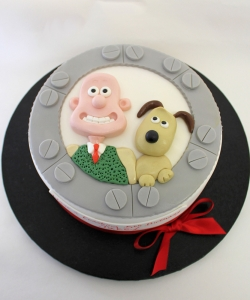 Wallace and Gromit Birthday Cake