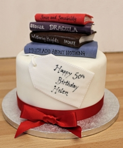 Book Club Birthday Cake