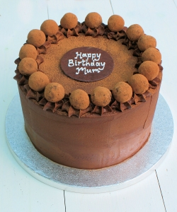 Chocolate Truffles Birthday Cake