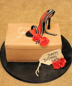 Christian Louboutin Birthday Cake