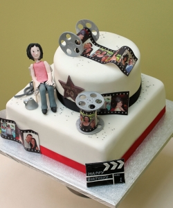 Filmakers Birthday Cake
