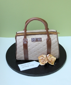 Gucci Handbag Cake Birthday Cake