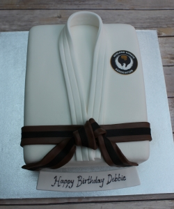 Karate Jacket Birthday Cake